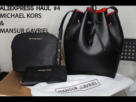 ae025f043366 Aliexpress Haul #4!Bags & Wallet- Michael Kors & Mansur Gavriel ...