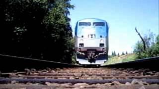 Amtrak runs over my camera