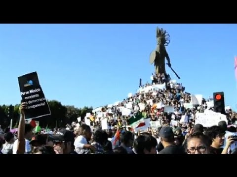 Thousands of Mexicans Protest Alleged Elections Fraud
