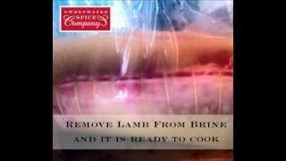 Lime Jalapeno Fajita Bath Brined Lamb Roast Sweetwater Spice Co