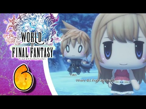 World of Final Fantasy Walkthrough Part 6 (PS4) English - No Commentary