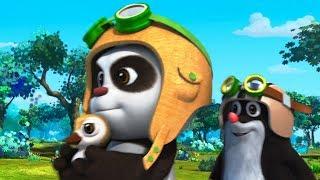 Мультики для детей - Кротик и Панда - Болезнь Кротика + Подкидыш - Развивающие мультфильмы для детей