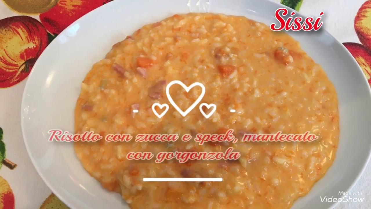 Ricetta Risotto Con Asparagi Monsieur Cuisine.Monsieur Cuisine Plus Risotto Cremoso Con Zucca E Speck Mantecato Con Gorgonzola Youtube