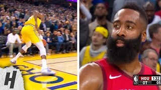 Worst Call EVER? Kevin Durant Goes Out of Bounds, James Harden Is In SHOCK! January 3, 2019