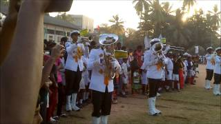 Royal College Panadura Army cadet Band Disply 2013