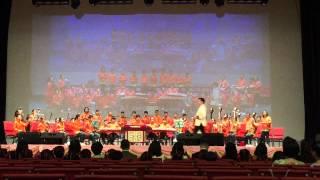 保良局聯小中樂團在石門鄉議會大劇院演奏16-5-2015
