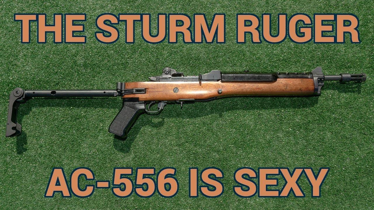 The Sturm Ruger AC-556 is a sexy little machine gun (VIDEO +