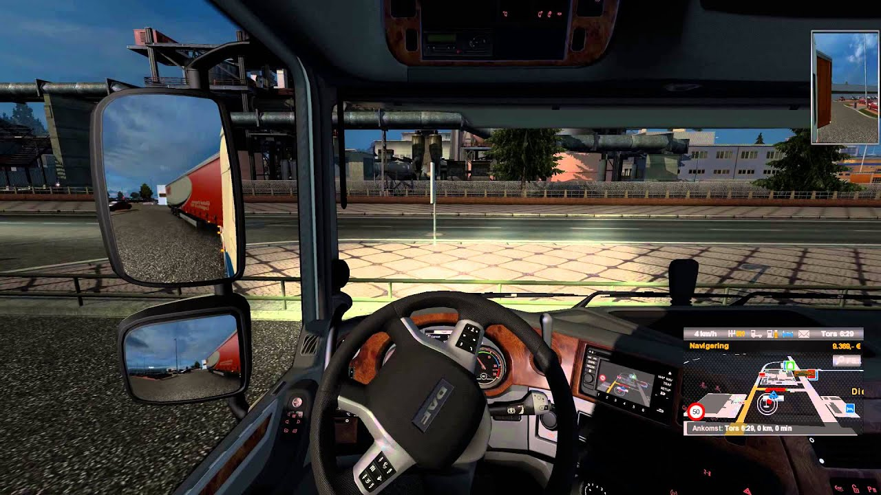 ETS 2 MHA Map parking at LeClerc in Dieppe YouTube