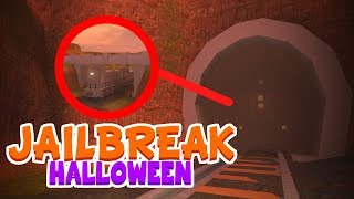 Roblox Jailbreak NEW Secret Train Location!┆Ducktober