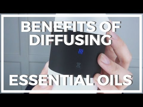 Benefits of Diffusing ♥ Essential Oils