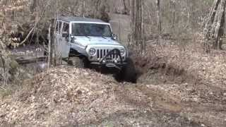 JEEPS OFFROAD - Jeep Wrangler Killer Video in the North Georgia Mountains
