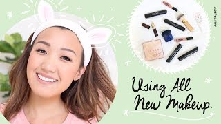 TESTING OUT ALL NEW MAKEUP! | ilikeweylie