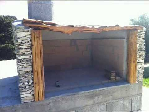 Come costruire un barbecue in muratura e pietra   youtube