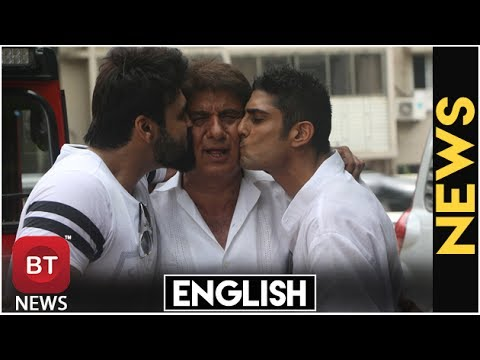 Raj Babbar Celebrated His 65th Birthday With Sons Aarya Babbar & Prateik Babbar