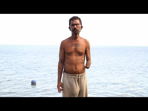 Why this Indonesian fisherman risked it all