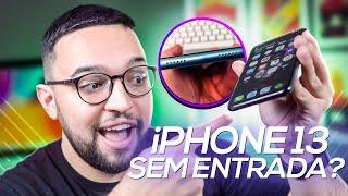 iPHONE 13 sem ENTRADAS?! CARREGADOR MAGNÉTICO ou SEM FIO? VEM CONHECER!!