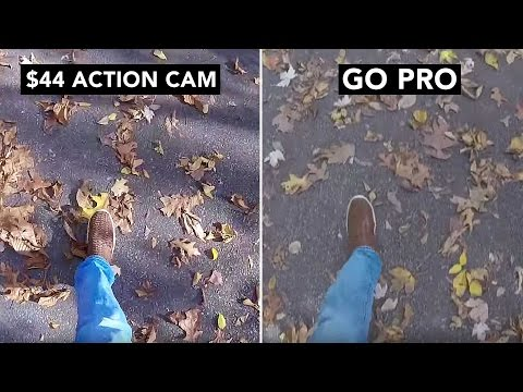 $44 HD Action Cam Deal VS GoPro REVIEW + Lowest Echo Price Yet! - 동영상