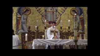 The Order of the Mass - Offertory and Eucharistic Prayer