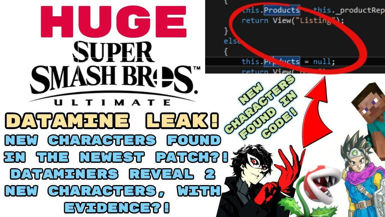 smash dlc leak on JumPic com