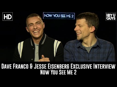Dave Franco & Jesse Eisenberg Exclusive Interview - Now You See Me 2
