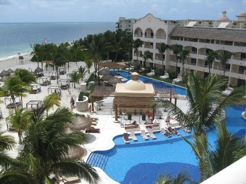 Excellence Riviera Cancun Mexico hotel - YouTube