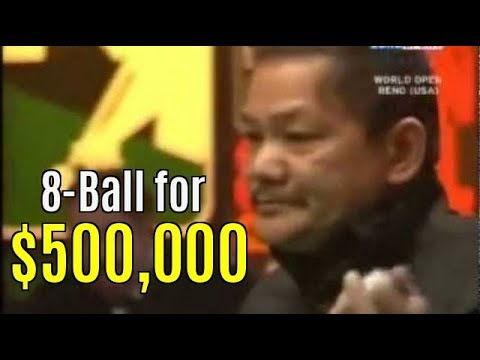 Thumbnail: Reyes vs Rodney Morris $500,000 8-ball. Newest upload!