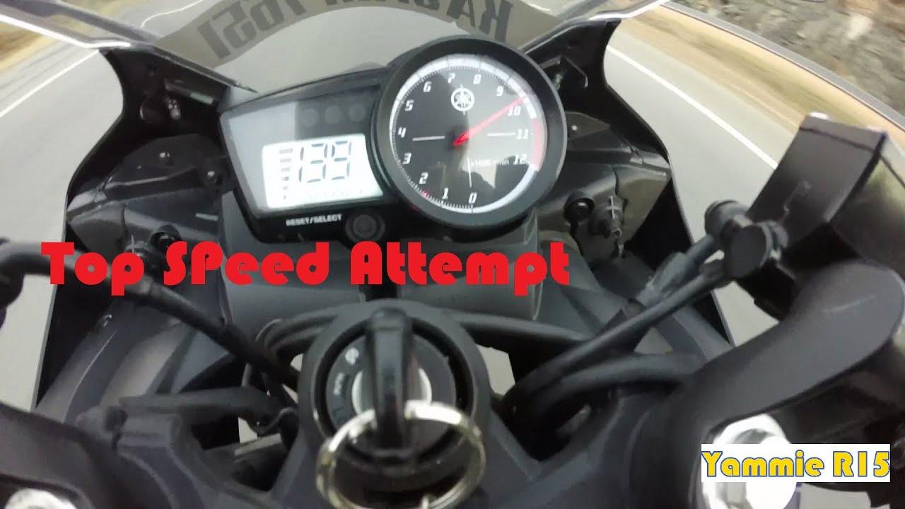 Yamaha r15 top speed