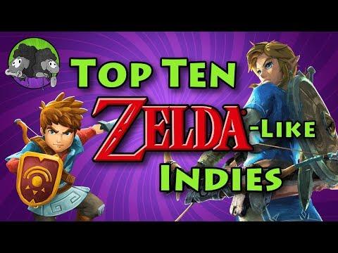 Top 10 Zelda-like Indie Games