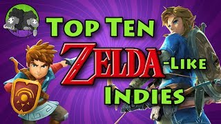 Top 10 Zelda-like Indie Games