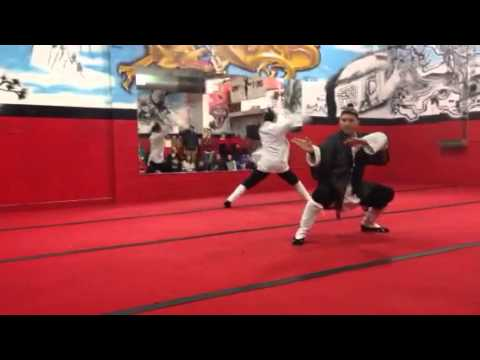 Demo at Jing Ying Kung Fu