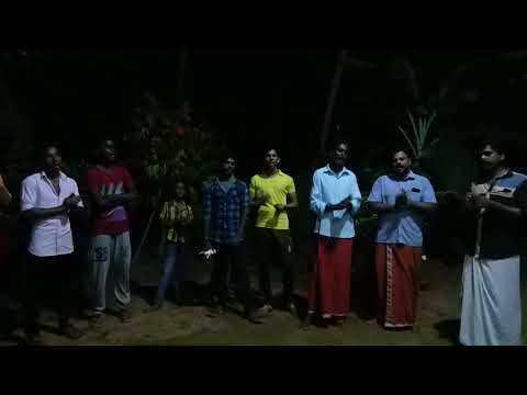Bhajan during the auspicious month of virchikam (malayalam month)