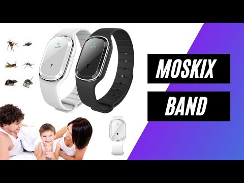 MoskiX Band Overview – Best Ultrasonic Mosquito Repellent Bracelet 2021