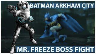 Batman Arkham City - Gameplay Walkthrough 06 - Mr. Freeze Boss Fight!