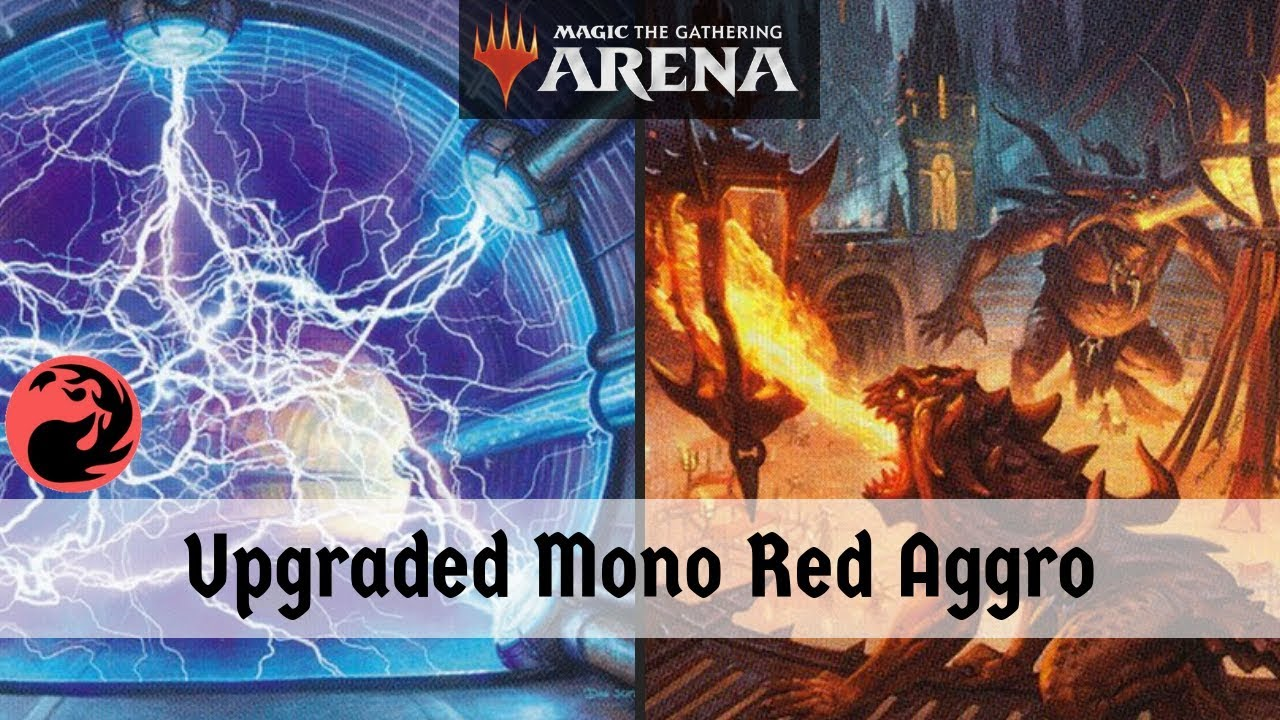 New & Improved Updated Mono Red Aggro