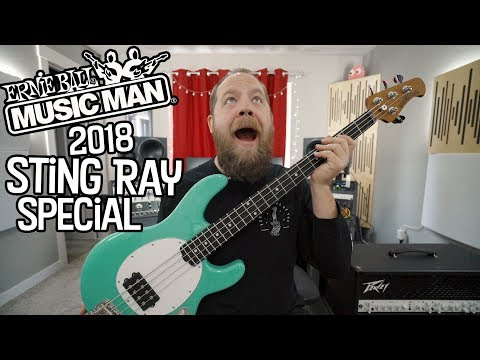 2018 Ernie Ball Music Man Sting Ray Special!