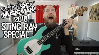 2018 Ernie Ball Music Man Sting Ray Special!