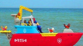 Щенячий Патруль - Котята Угнали Морскую Базу Райдера Часть 2.  Paw Patrol Sea Patrol