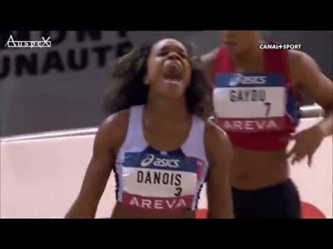 Aubière 16 février 2013 Championnats de France Elites en salle 200M femmes finale