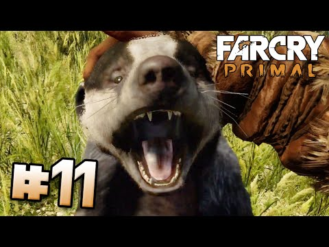 Killer Badger, with FLEAS!!! - Far Cry Primal | Part 11 (PS4) HD