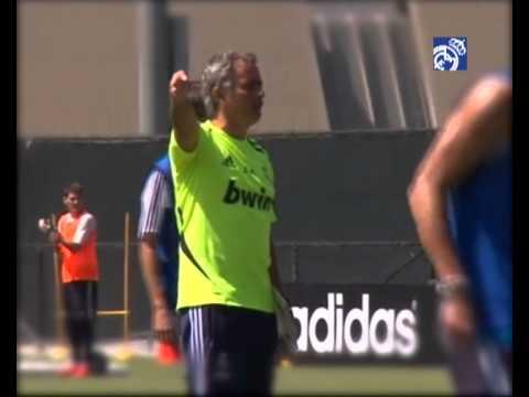 Entrenamos con... Mourinho / Training with.... Mourinho