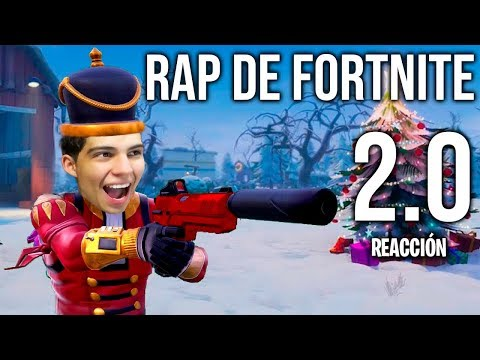 Rap de Fortnite 2.0 - Bambiel (Vídeo Reacción)