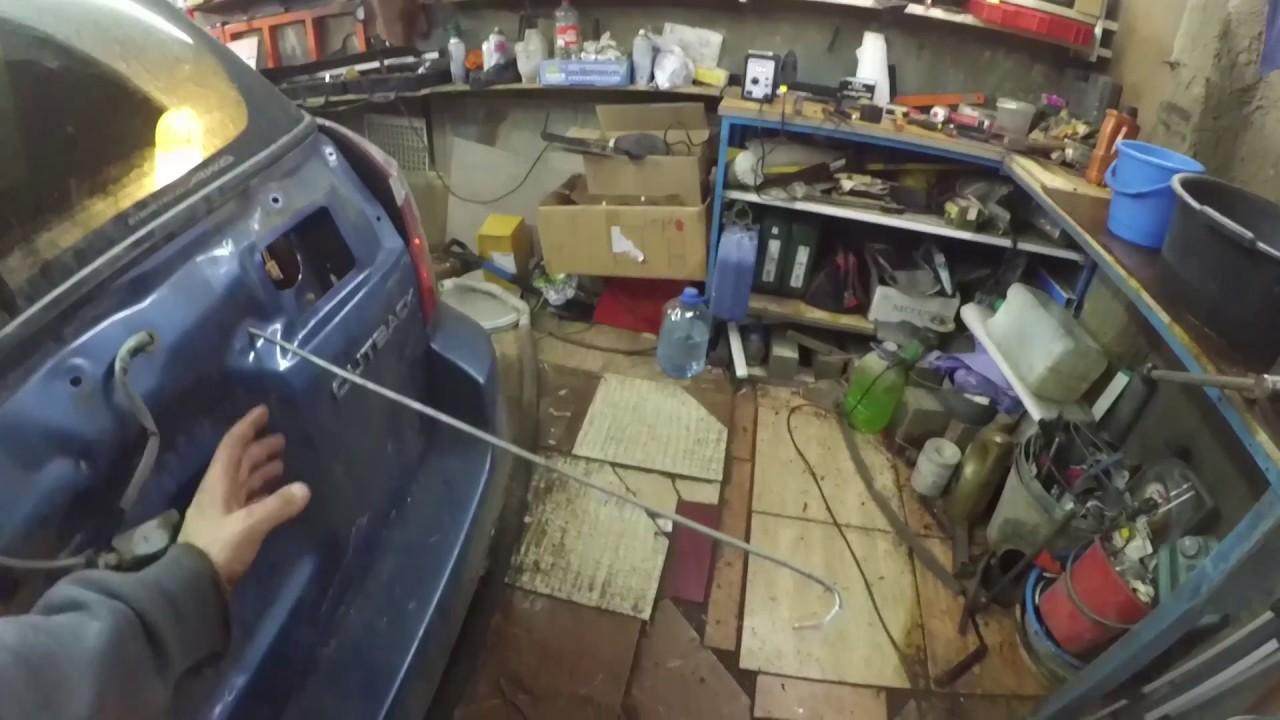 Ремонт двери багажника Subaru Outback