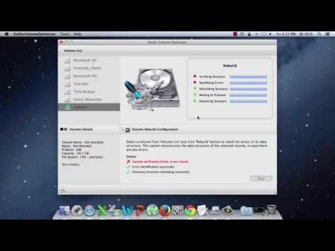 Repair Mac Disk Invalid B Tree Node with Stellar Volume Repair