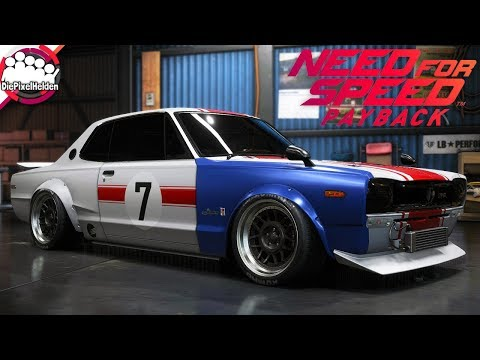 NEED FOR SPEED PAYBACK - Nissan Skyline 2000 GT-R - Racerbuild - NFS Payback Carbuild
