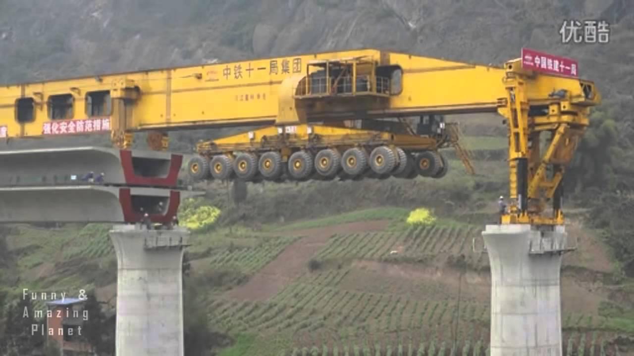Как в Китае Строят Мосты