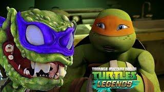 Черепашки-Ниндзя: Легенды - ИСПЫТАНИЕ ГОРОДСКАЯ ВОЙНА (TMNT Legends UPDATE X)