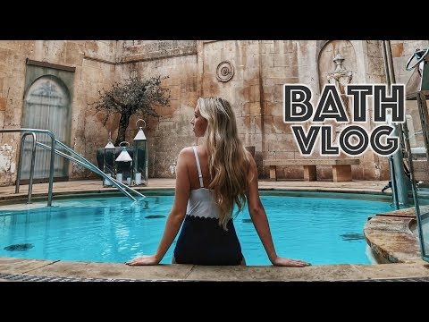 A WEEKEND IN BATH VLOG - THERMAE SPA, APARTMENT TOUR & A NEW CAR | Scarlett London