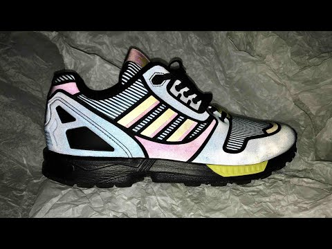 the best attitude a7c94 df58c Adidas ZX Flux Xeno (B54176) Review - YouTube