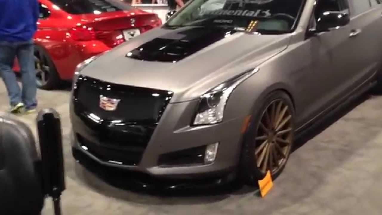 2015 Cadillac Ats V Sema Youtube