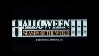 "Halloween III: El Imperio de las Brujas ""Halloween III: Season of the Witch"" (1982) Trailer"